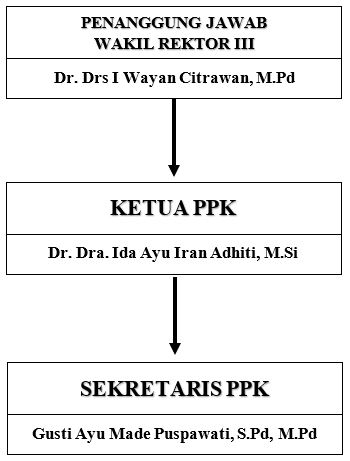 Struktur Organisasi PPK